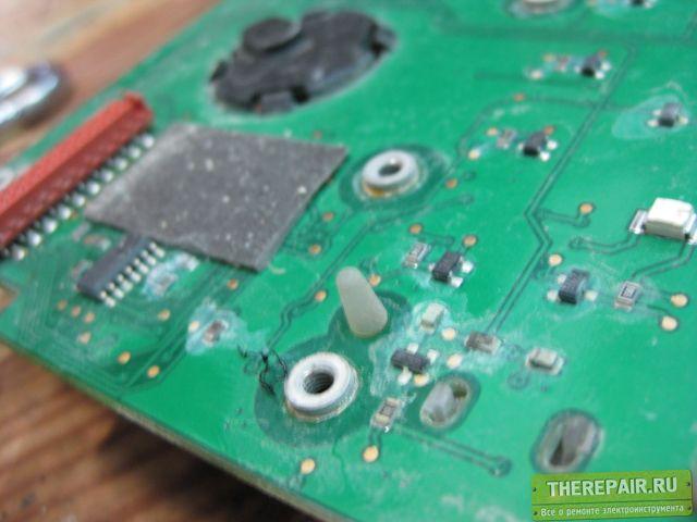 Электронная плата от электроники алм.установки DD-500
