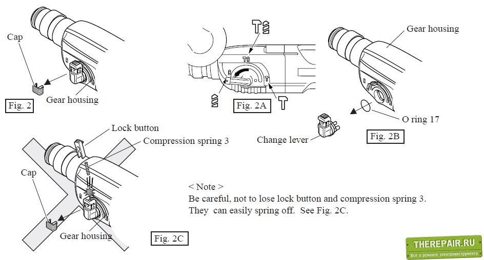 Ремонт ствола перфоратора макита 2450 своими руками видео
