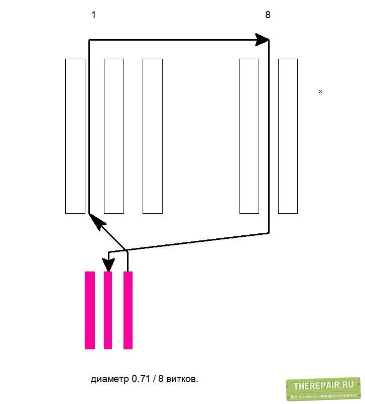 Как перемотать коллекторный двигатель своими руками 18