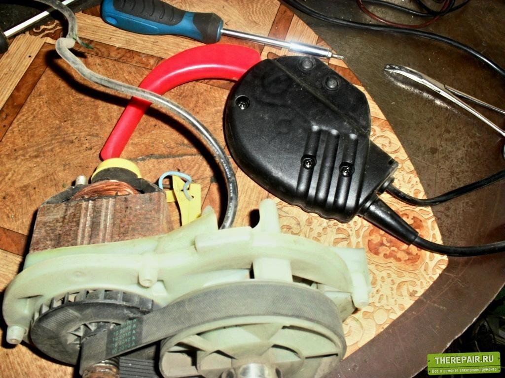 Ремонт электрокосилки бош ротак 32 своими руками 59